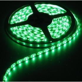 NedRo - Groen IP20 12V Led Strip SMD3528 60LED per meter - LED Strips - AL020-3M www.NedRo.nl