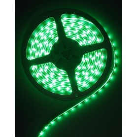 Oem - Green 12V IP20 SMD3528 Led Strip 60LED per meter - LED Strips - AL020-CB