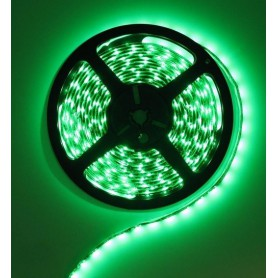 NedRo - Green 12V IP20 SMD3528 Led Strip 60LED per meter - LED Strips - AL020-CB
