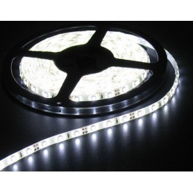 NedRo - Cold White 12V IP65 SMD5050 Led Strip 60LED per meter - LED Strips - AL158-4M www.NedRo.us