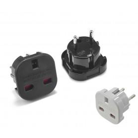 Unbranded, Adaptor UK la EU culoare, Mufe și adaptoare, AC19-CB, EtronixCenter.com