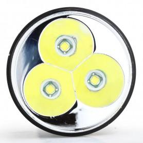 NedRo, 3T6 LED lanterna 3x CREE XM-L T6 LED Camping 3800LM 5 moduri, Lanterne, LFT55, EtronixCenter.com