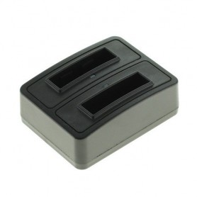 Duo USB batterijlader voor Sony NP-BG1 NP-FG1