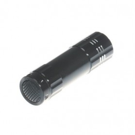 NedRo, Mini 9 LED Aluminium UV Ultra Violet Flashlight purple light, Flashlights, LFT70-CB, EtronixCenter.com