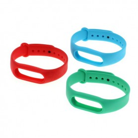 OTB, Set of 3 TPU bracelet for Xiaomi Mi Band 2, Bracelets, ON3858, EtronixCenter.com