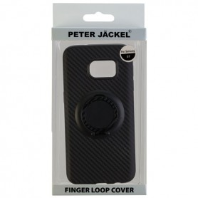 Peter Jäckel - Finger Loop Cover Carbon Style for Apple iPhone 7- iPhone 8 - iPhone phone cases - ON4837