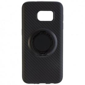 Peter Jäckel - Husa TPU pentru Apple iPhone 7- iPhone 8 stil fibră de carbon cu inel - iPhone huse telefon - ON4837 www.NedRo.ro