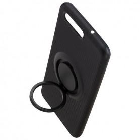 Peter Jäckel - Finger Loop Cover Carbon Style for Huawei P10 - Huawei phone cases - ON4840 www.NedRo.us