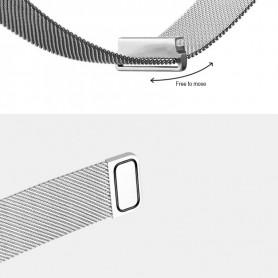 NedRo - Metal bracelet for Fitbit Blaze frame magnetic closure - Bracelets - AL484-C-CB www.NedRo.us