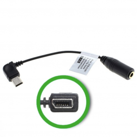 Audio Kabel 11pin ExtUSB naar 3,5mm Jack Stereo ON236