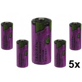 Tadiran - Tadiran SL-761 2/3 AA Lithium batterij 1500mAh 3.6V - Andere formaten - NK182-5x www.NedRo.nl