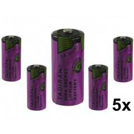 Tadiran - Tadiran SL-761 2/3 AA lithium battery 1500mAh 3.6V - Other formats - NK182-5x www.NedRo.us