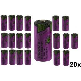 Tadiran - Tadiran SL-761 2/3 AA lithium battery 1500mAh 3.6V - Other formats - NK182-20x www.NedRo.us