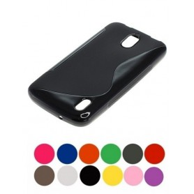OTB - TPU Case for Huawei Y625 S-Curve black ON1981 - Huawei phone cases - ON1981 www.NedRo.us