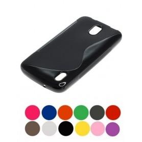 OTB - TPU Case voor Huawei Y625 S-Curve zwart ON1981 - Huawei telefoonhoesjes - ON1981 www.NedRo.nl