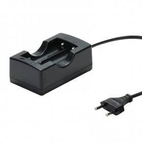 18650 Dual Charger EU Plug for Li-ion Rechargeable Battery