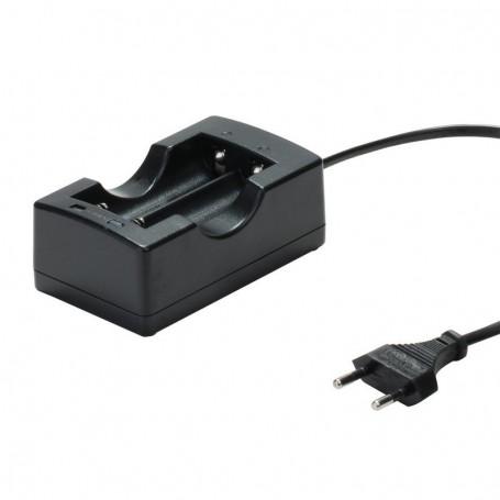 Pro EU Plug 18650 Li-ion Battery Dual Smart Charger For Rechargeable Batteries