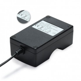 Oem - 18650 Dual Charger EU Plug for Li-ion Rechargeable Battery - Battery chargers - BC59