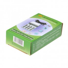 NedRo - CR123A 18650 14500 AA AAA Ni-MH / Ni-CD batterijoplader - Batterijladers - BC45 www.NedRo.nl