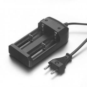 NedRo - Dual Li-ion batterijoplader voor 18650 CR123A 16340 14500 26650 - Batterijladers - BC41 www.NedRo.nl