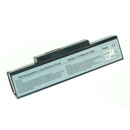 OTB, Battery for Asus A32-K72 / A32-N71 Li-Ion 6600mAh, Asus laptop batteries, ON1831