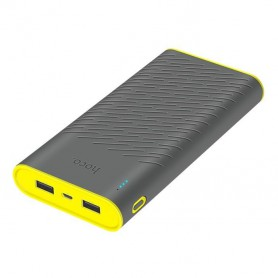 HOCO - HOCO Rege 30000mAh Power Bank 2x 2.1A - Powerbanks - H60728 www.NedRo.nl