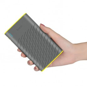 HOCO - HOCO Rege 20000mAh Power Bank 2x 2.1A - Powerbanks - H60730 www.NedRo.nl