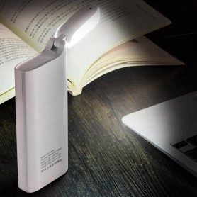 HOCO - HOCO PSB27 15000mAh Power Bank 2A / 1A met LED lamp - Powerbanks - H60732 www.NedRo.nl