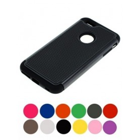 OTB - Schokbestendig Case iPhone 6 Plus / 6S Plus zwart ON2075 - iPhone telefoonhoesjes - ON2075 www.NedRo.nl