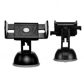 HOCO - HOCO Semi-Automatic Suction Pad Dashboard Mobile Holder - Car dashboard phone holder - H60378-C www.NedRo.us