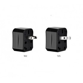 HOCO - All in One - HOCO Universal AC Converter US EU AU UK - Plugs and Adapters - H60723 www.NedRo.us