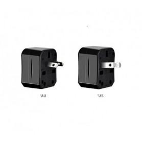 HOCO - All in One - HOCO Universal AC Convertor US UE AU Marea Britanie - Mufe și adaptoare - H60723 www.NedRo.ro