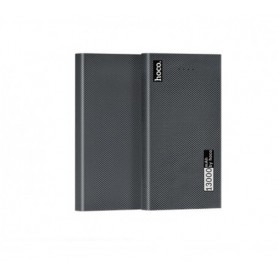 HOCO - HOCO Carbon Fiber 13000mAh Power Bank 2x 2.1A - Powerbanks - H60371 www.NedRo.us