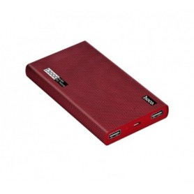 HOCO - HOCO Carbon Fiber 13000mAh Power Bank 2x 2.1A - Powerbanks - H60372 www.NedRo.nl