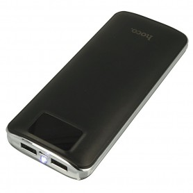 HOCO - HOCO Flowed 15000mAh Power Bank 1A/2.1A met zaklamp - Powerbanks - H60369 www.NedRo.nl