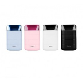 HOCO - HOCO Domon 10000mAh Power Bank 1A/2A met zaklamp - Powerbanks - H60365-CB www.NedRo.nl