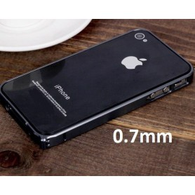 NedRo - Carcasa din aluminiu 0.7mm pentru Apple iPhone 4 / 4S - iPhone huse telefon - AL320-CB www.NedRo.ro
