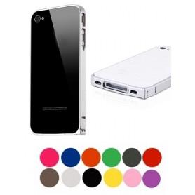 NedRo - Aluminium bumper 0.7 mm voor Apple iPhone 4 / 4S - iPhone telefoonhoesjes - AL320 www.NedRo.nl