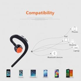 HD Voice - Handsfree Bluetooth v3-headsets met microfoon stembediening - Koptelefoon en Accessoires - AL169-C-CB www.NedRo.nl