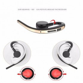 HD Voice, Handsfree Bluetooth v3-headsets met microfoon stembediening, Koptelefoon en Accessoires, AL169-CB, EtronixCenter.com