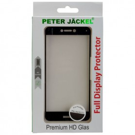 Peter Jäckel - PETER JACKEL Full Display premium HD Gehard glas voor Huawei P8 Lite (2017) - Huawei gehard glas - ON4912 www...