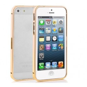 NedRo, Aluminium bumper 0.7 mm voor Apple iPhone 4 / 4S, iPhone telefoonhoesjes, AL320-CB, EtronixCenter.com