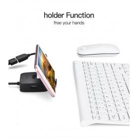 Vention - Hub USB 2.0 4 porturi Suport telefon Adaptor USB Splitter - Porturi si huburi - V001-100 www.NedRo.ro