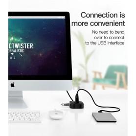 Vention - USB 2.0 Hub 4 poorten Telefoonhouder USB Splitter Adapter - Ports en Hubs - V001-100 www.NedRo.nl