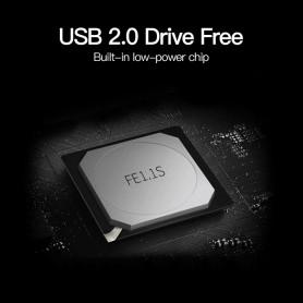 Vention - Hub USB 2.0 4 porturi Suport telefon Adaptor USB Splitter - Porturi si huburi - V001-CB www.NedRo.ro