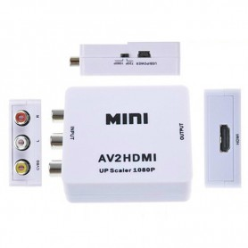 NedRo - Mini Composite RCA AV naar HDMI Converter Upscaler Adapter - HDMI adapters - AL171-C-CB www.NedRo.nl