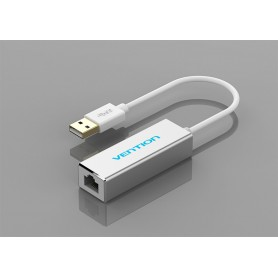 Vention - USB 3.0 - 10/100/1000 Mbps Ethernet LAN Adapter - Netwerk adapters - V007 www.NedRo.nl