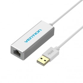 Vention - USB 2.0 - 10/100Mbps Ethernet LAN Adapter - Netwerk adapters - V008 www.NedRo.nl
