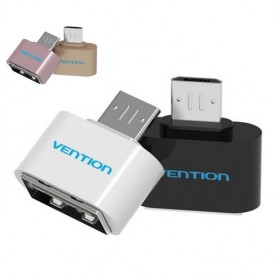 Vention - USB 2.0 to Micro USB OTG Adapter Converter - USB adapters - V009 www.NedRo.us