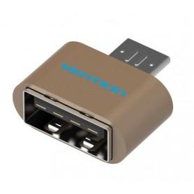 Vention - USB 2.0 naar Micro USB OTG Adapter Converter - USB adapters - V009-G www.NedRo.nl